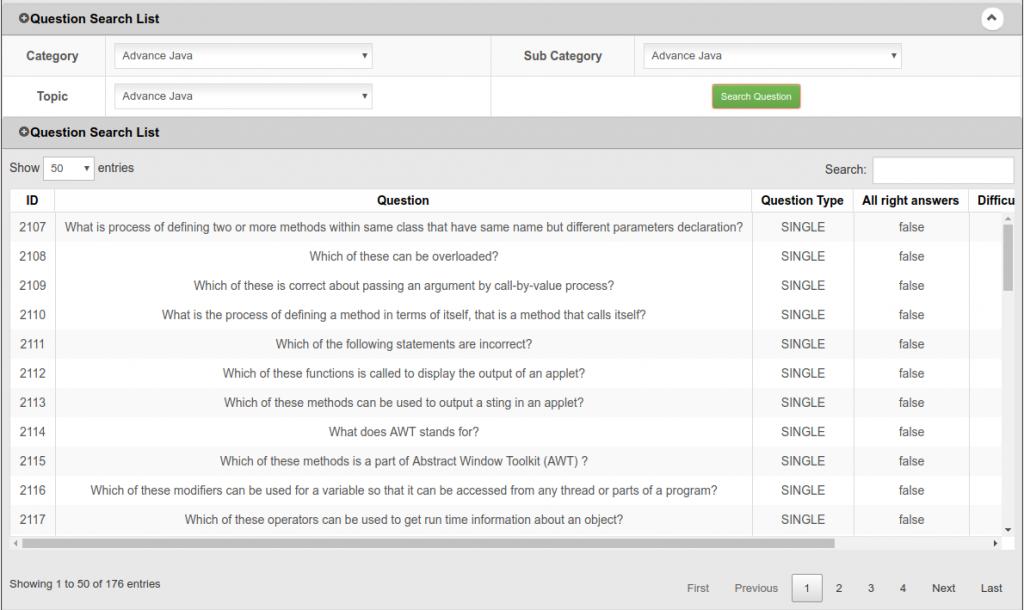 Student Online Examination System